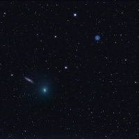 41Pタットル・ジャコビニ・クレサック彗星とM97-108Ⅲ