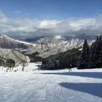連休のスキー場