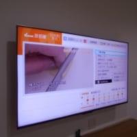 液晶テレビを壁掛けで設置