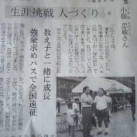 日本経済新聞「人間発見」