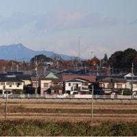 手賀沼  筑波山&富士山