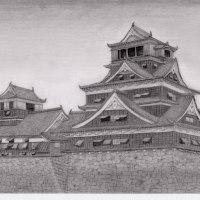 熊本城(熊本震災から3ケ月)