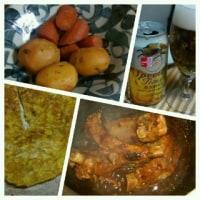 豚リブの粒豆味噌煮