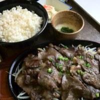 今日から牛タン定食!始まります(^_^)/