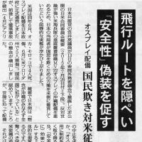 ◆【衝撃】また国民をだました日本政府~「オスプレイ、日本の空を制約なく飛んでいい」と米軍に言っていた