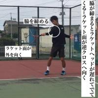 フォアハンドストローク  回り込みフォアハンド逆クロスへ打つコツ①「打点の位置について」 〜才能がない人でも上達できるテニスブログ〜