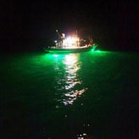 高性能LED水中集魚灯入荷しました!
