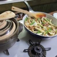 いんげんと豚肉の炒め物