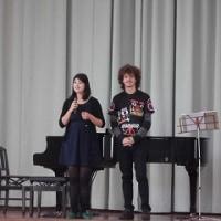10/25(火)間嶋純子さん・アントニオ・サピオさんのミニコンサートをしました。