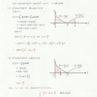 被積分関数に絶対値記号を含む関数の定積分 ~問題を解いてみよう
