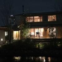 夜の神宮の家☆