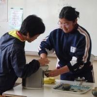 中学部3年生 授業の様子(職業・家庭)