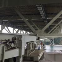 関門橋:剥離:塗装工事 竣工までもうすぐ