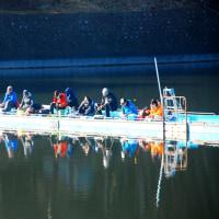 鳴沢湖わかさぎ釣り