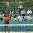 7/28 ソフトテニス県総体個人戦男子 四国大会へ出場 おめでとう!