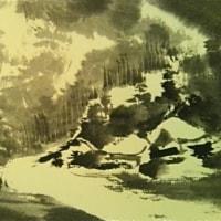雪景を描く