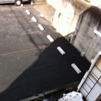 駐車場がキレイになりました