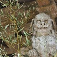 獅子の彫刻はやはり迫力があります。 (Photo No.14062)