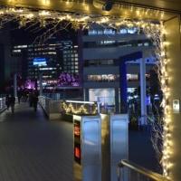 新宿駅サザンテラスのイルミネーション