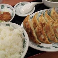 日高屋 ダブル餃子定食