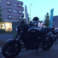 XSR900 納車