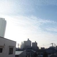 今朝(12月5日)の東京のお天気:晴れ
