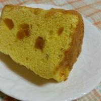かぼちゃのシフォンケーキ。