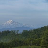 鳥海山のある風景(東由利 舘合付近)