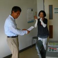 退職者の会第14回パークゴルフ大会 優勝は矢田さん