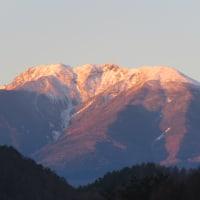 八ヶ岳朝焼け