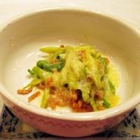 3月12日「納豆とネギのチーズ焼き」