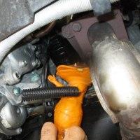 VW LUPOの車検前作業。