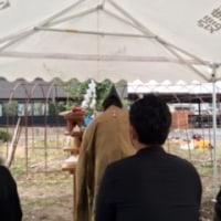岐阜市にて地鎮祭です