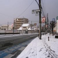大雪警報発表に伴うイベントの中止(長岡京市景観シンポジウム)