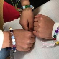 三月の沙羅の会〜腕輪念珠作り〜