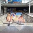 鳥取砂丘コナン空港のトリックアート