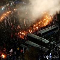 マスコミの報じなかった韓国の7万人暴動!
