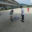 体験学習でペットボトルロケットを作って打ち上げました!