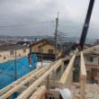 エターナル東香里元町2号地 U様邸 建て方(上棟)しました。