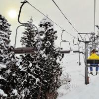 よし!古志高原スキー場に行くぜえ~!コブ乗り練習だあ~!新潟県長岡市・山古志地域