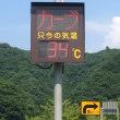 国道の気温計が恨めしいです!