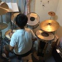 小4男子!ドラム(^^)