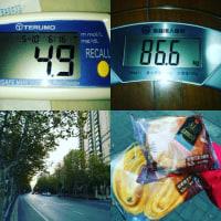 #161503 朝の室内地崩れ~浦東散歩~誕生日焼肉♪