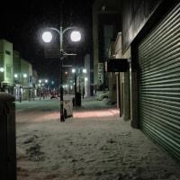 五所川原~北国の凍てつく夜