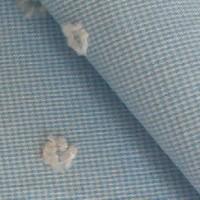 水色ジャガード織
