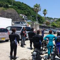 須崎海底清掃