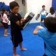 2017.7.24 少年部キッククラス、今日の練習