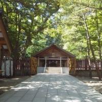 札幌まちなか探検隊    昨日の景色   北海道神宮にて2  開拓神社
