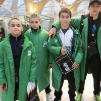 やあやあ、モスクワ少年柔道団!