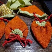 「柿巾着」作り